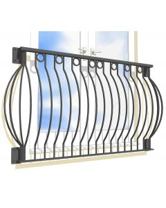 Medway Curved Juliet Balcony